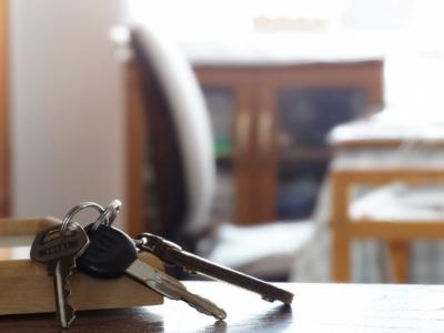 退去時に返却する部屋の鍵