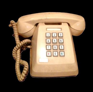 固定電話の画像