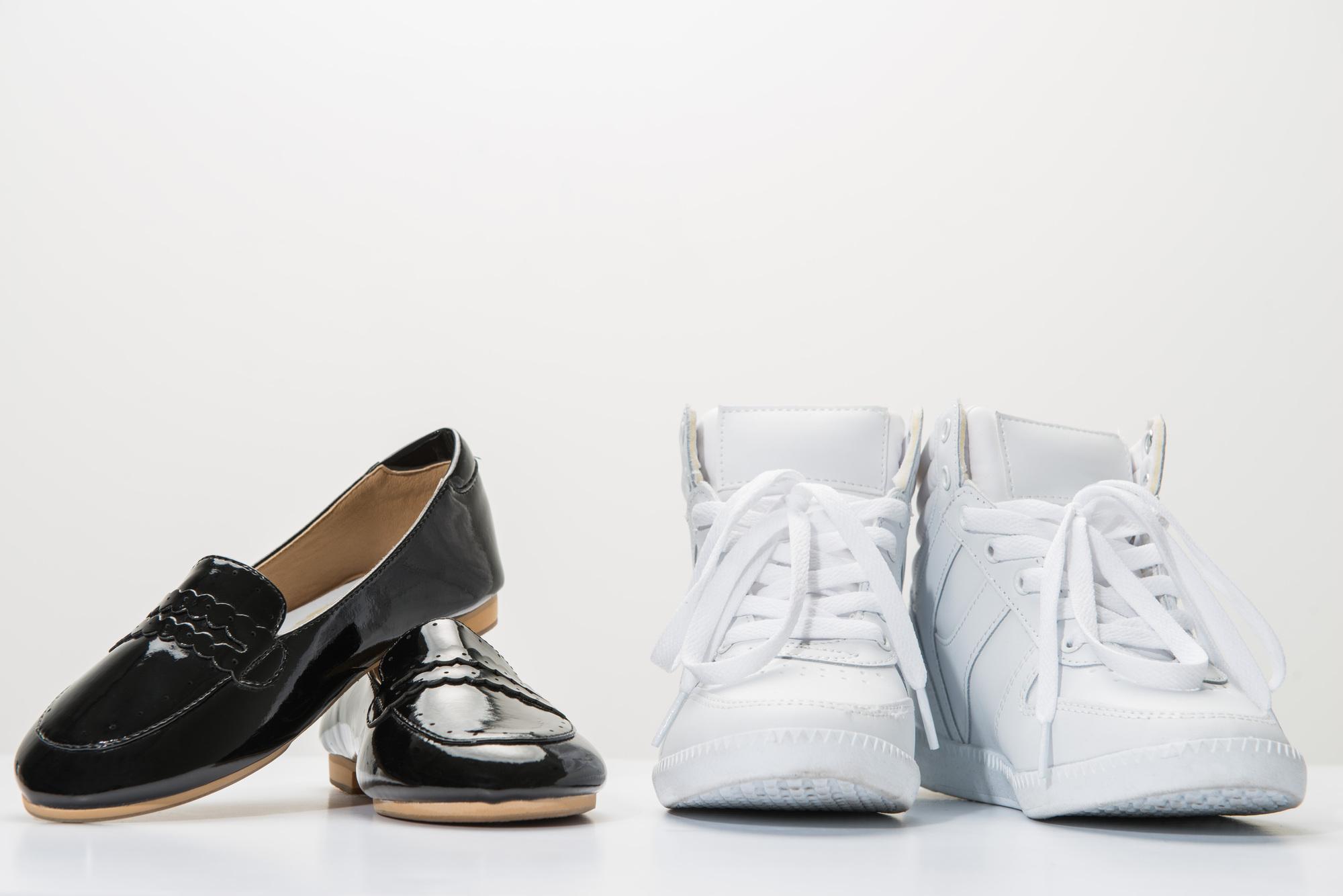 おしゃれ靴とファッション スニーカーの写真