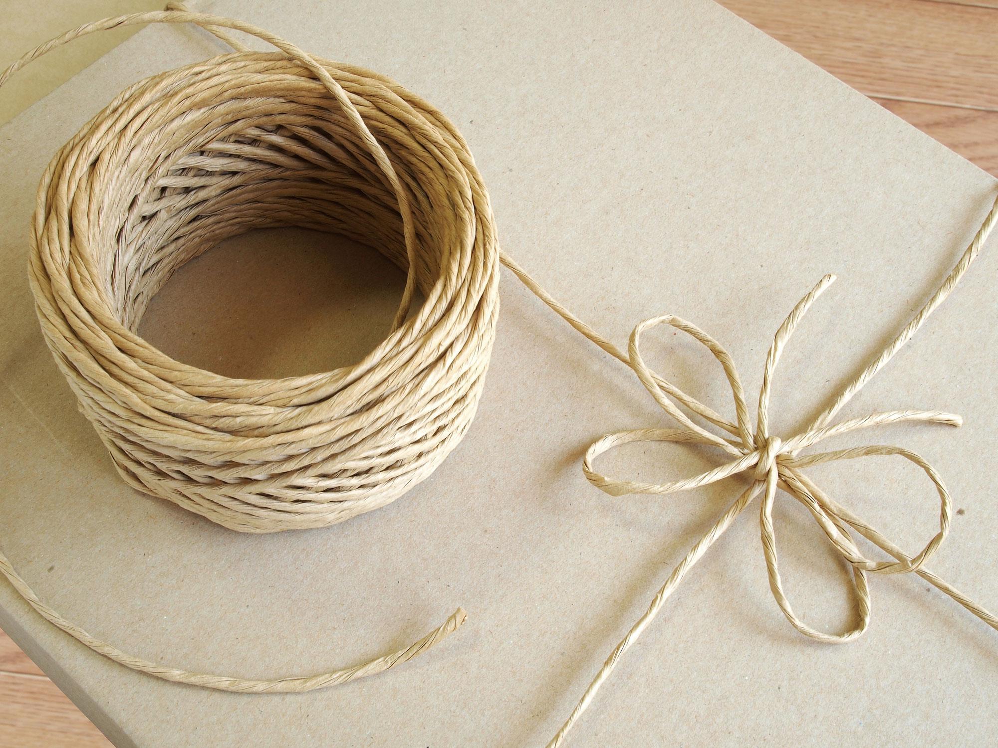 紙紐で梱包